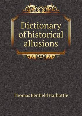 Dictionary of Historical Allusions