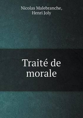 Traite de Morale