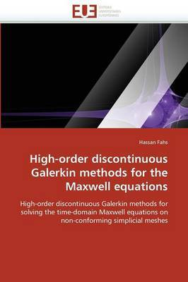 High-Order Discontinuous Galerkin Methods for the Maxwell Equations