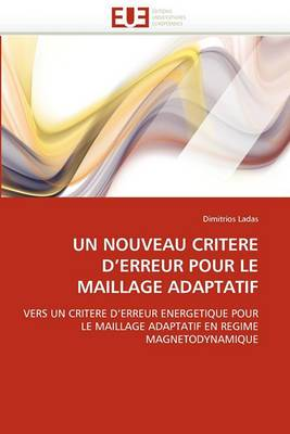 Un Nouveau Critere D''Erreur Pour Le Maillage Adaptatif