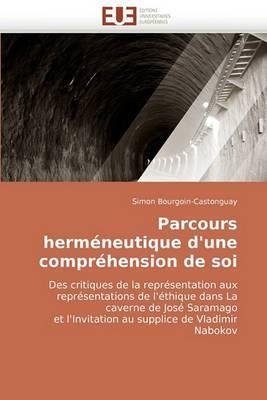Parcours Hermeneutique D'Une Comprehension de Soi