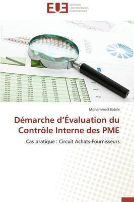 Demarche D Evaluation Du Controle Interne Des Pme