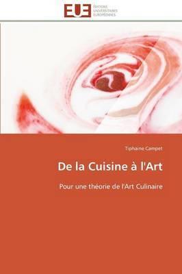 de La Cuisine A L'Art