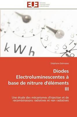 Diodes Electroluminescentes a Base de Nitrure D'Elements III