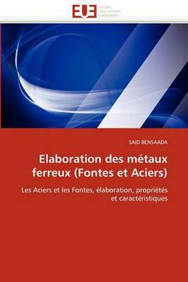 Elaboration Des Metaux Ferreux (Fontes Et Aciers)