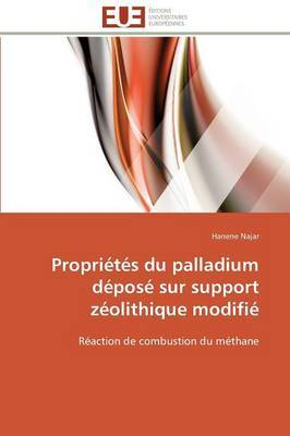 Proprietes Du Palladium Depose Sur Support Zeolithique Modifie