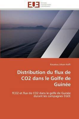 Distribution Du Flux de Co2 Dans Le Golfe de Guinee