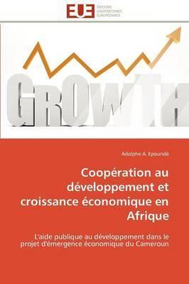 Cooperation Au Developpement Et Croissance Economique En Afrique
