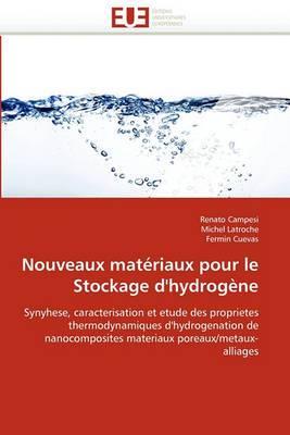 Nouveaux Materiaux Pour Le Stockage D''Hydrogene