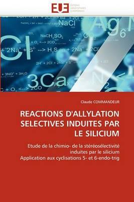 Reactions D''Allylation Selectives Induites Par Le Silicium