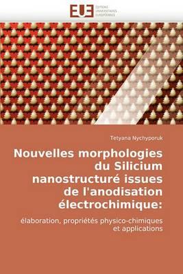 Nouvelles Morphologies Du Silicium Nanostructure Issues de L''Anodisation Electrochimique