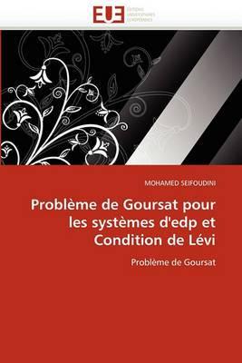 Probleme de Goursat Pour Les Systemes D''Edp Et Condition de Levi