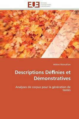 Descriptions de Nies Et Demonstratives