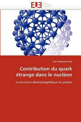 Contribution Du Quark Etrange Dans Le Nucleon