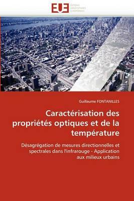 Caracterisation Des Proprietes Optiques Et de La Temperature