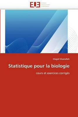 Statistique Pour La Biologie