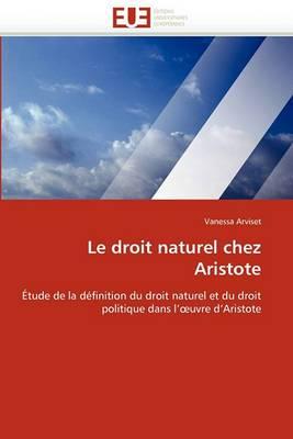 Le Droit Naturel Chez Aristote
