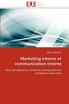 Marketing Interne Et Communication Interne