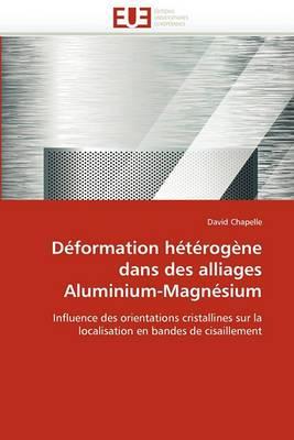 Deformation Heterogene Dans Des Alliages Aluminium-Magnesium
