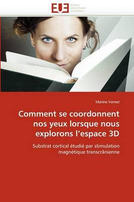 Comment Se Coordonnent Nos Yeux Lorsque Nous Explorons L Espace 3D