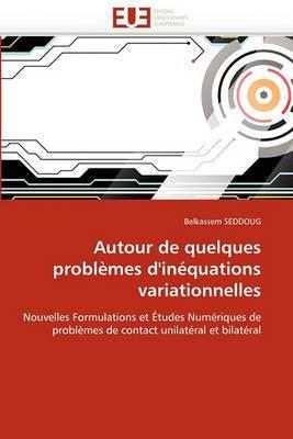 Autour de Quelques Problemes D''Inequations Variationnelles