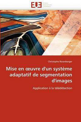 Mise En Uvre D'Un Systeme Adaptatif de Segmentation D'Images