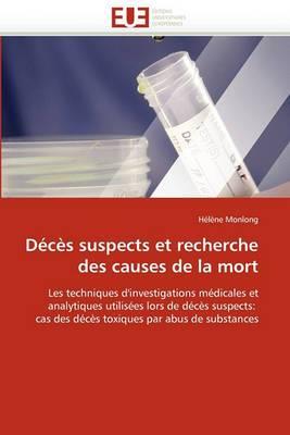 Deces Suspects Et Recherche Des Causes de La Mort