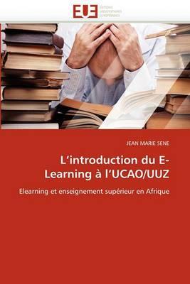 L Introduction Du E-Learning A L Ucao/Uuz