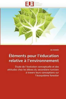 Elements Pour L Education Relative A L Environnement