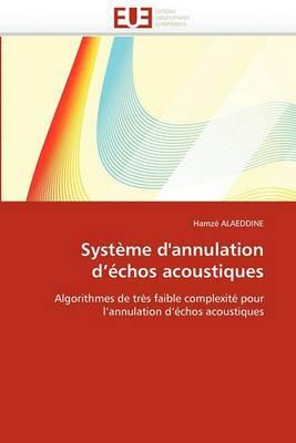 Systeme D''Annulation D''Echos Acoustiques