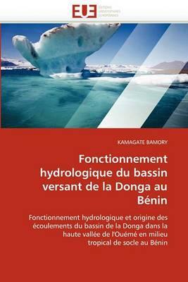 Fonctionnement Hydrologique Du Bassin Versant de La Donga Au Benin
