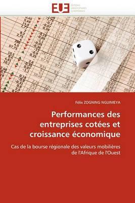 Performances Des Entreprises Cotees Et Croissance Economique