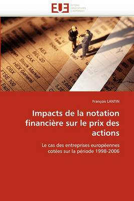 Impacts de La Notation Financiere Sur Le Prix Des Actions