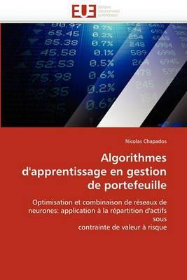 Algorithmes D''Apprentissage En Gestion de Portefeuille