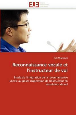 Reconnaissance Vocale Et L'Instructeur de Vol