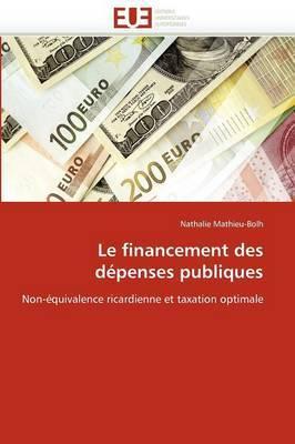 Le Financement Des Depenses Publiques