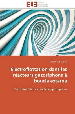 Electroflottation Dans Les Reacteurs Gazosiphons a Boucle Externe
