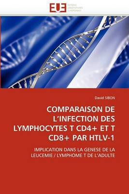 Comparaison de L Infection Des Lymphocytes T Cd4+ Et T Cd8+ Par Htlv-1