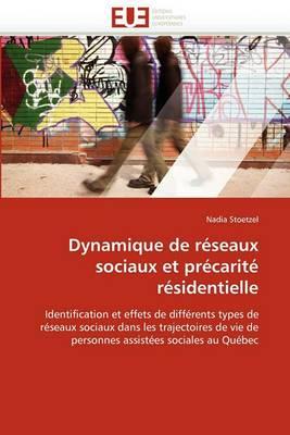 Dynamique de Reseaux Sociaux Et Precarite Residentielle