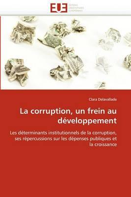 La Corruption, Un Frein Au Developpement