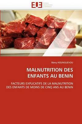 Malnutrition Des Enfants Au Benin