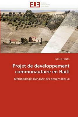Projet de Developpement Communautaire En Haiti