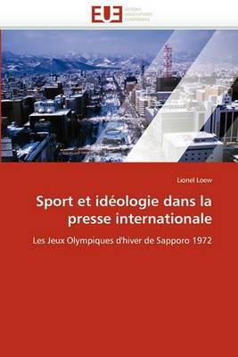 Sport Et Ideologie Dans La Presse Internationale