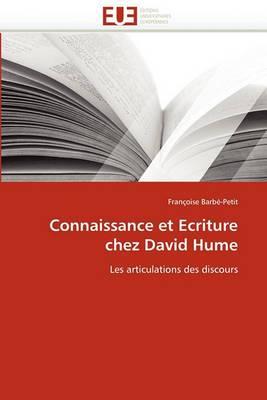 Connaissance Et Ecriture Chez David Hume