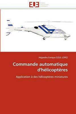 Commande Automatique D'Helicopteres