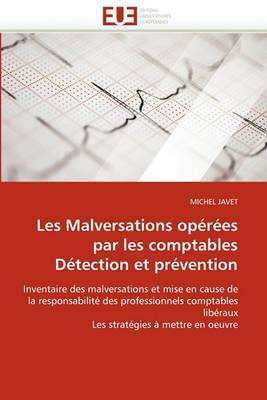 Les Malversations Operees Par Les Comptables Detection Et Prevention
