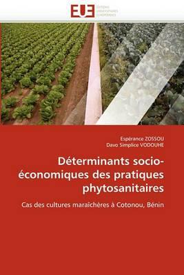 Determinants Socio-Economiques Des Pratiques Phytosanitaires