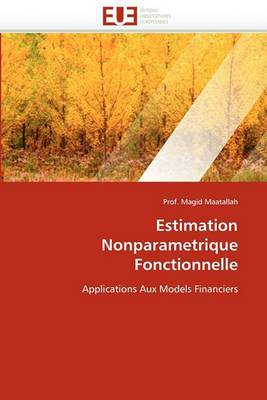 Estimation Nonparametrique Fonctionnelle