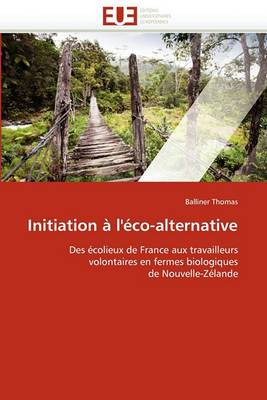 Initiation A L''Eco-Alternative