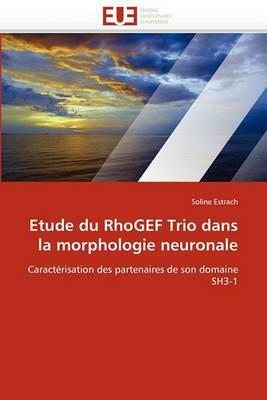 Etude Du Rhogef Trio Dans La Morphologie Neuronale